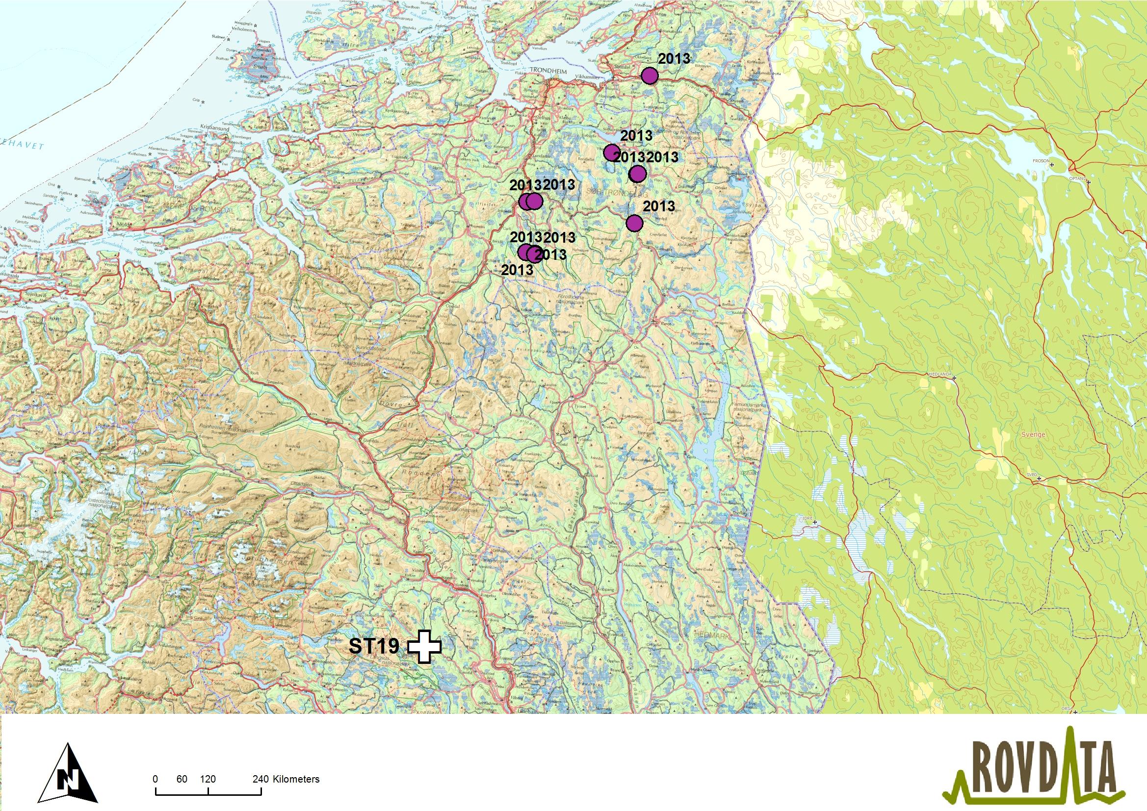 gausdal kart Alle felte bjørner var kjent fra før gausdal kart