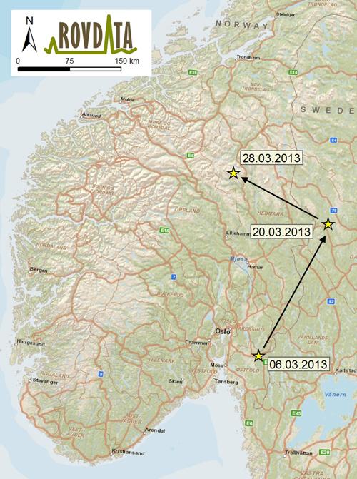 malung sverige kart Sjeldent jervebesøk i Østfold malung sverige kart