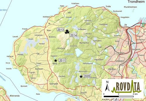 kart bymarka Bymarkajerven kan være rekordgammel kart bymarka