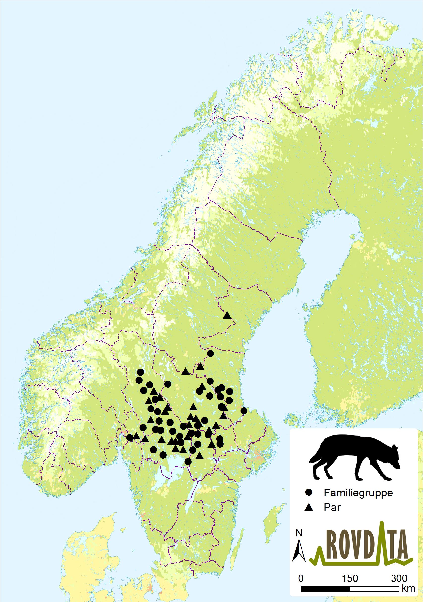 ulv kart Rovdata   Last ned kart og figurer, ulv ulv kart